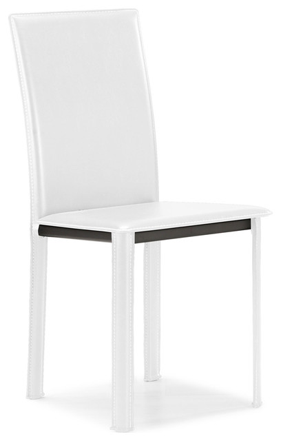 Arcane Dining Chair White (Set of 4) modern-dining-chairs