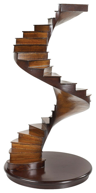 Authentic Models AR019 Spiral Stairs traditional-home-decor