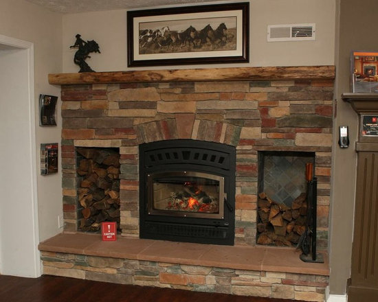 Wood burning fireplace that heats over 2000sf - Wood burning fireplace that heats over 2000sf