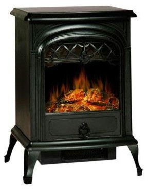 Galway Electric Stove Heater Small contemporary-fireplaces