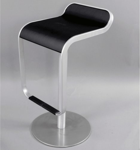 Control Brand Piston Stainless Steel Bar Stool Modern