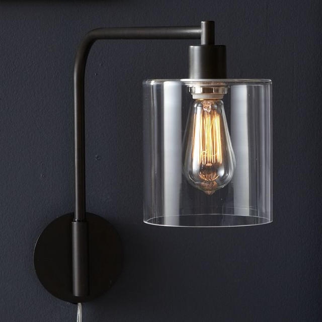 Lens Sconce contemporary wall sconces
