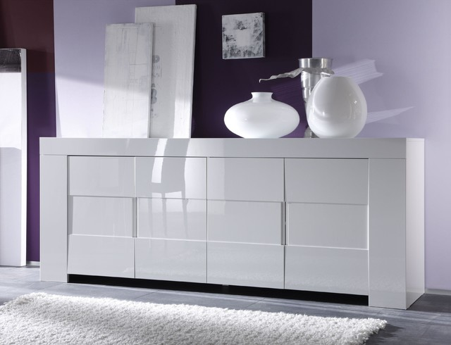 modern sideboard eos white modern buffets and sideboards new york by mig. Black Bedroom Furniture Sets. Home Design Ideas