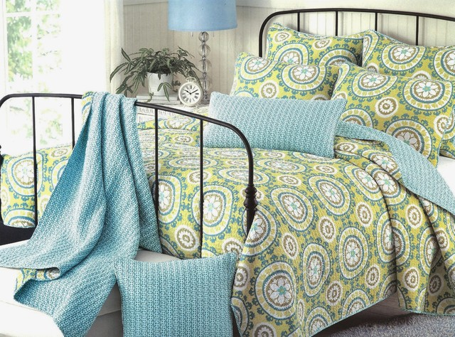 Suzani Quilt tropical quilts