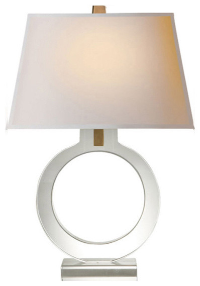 bedside ring table lamp contemporary table lamps by