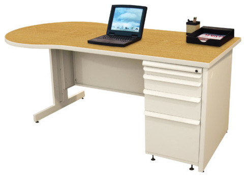 "Teachers 60"" Conference Desk modern-home-office-accessories"
