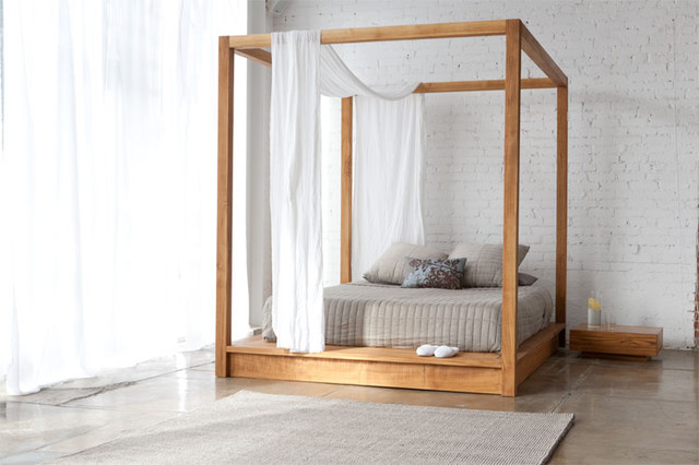 Mash Studios PCHSeries Canopy Bed modern-beds