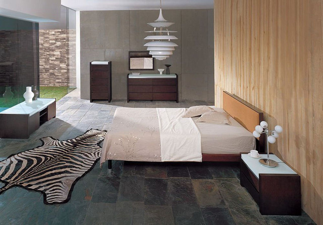 Exclusive wood luxury bedroom furniture contemporary for Exclusive beds
