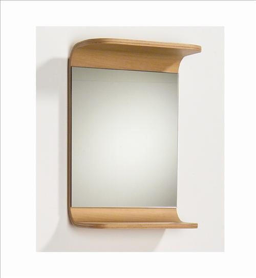 Whitehaus Aem038N Small Rectangular Mirror - Traditional - Mirrors - by PoshHaus
