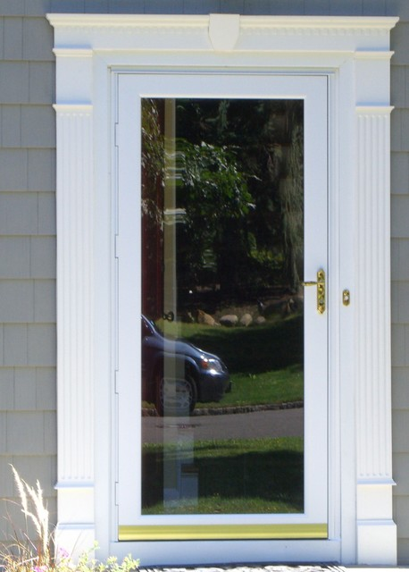 storm doors screen doors new york by lifetime aluminum