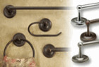 Bathroom Hardware Collections traditional-towel-bars-and-hooks