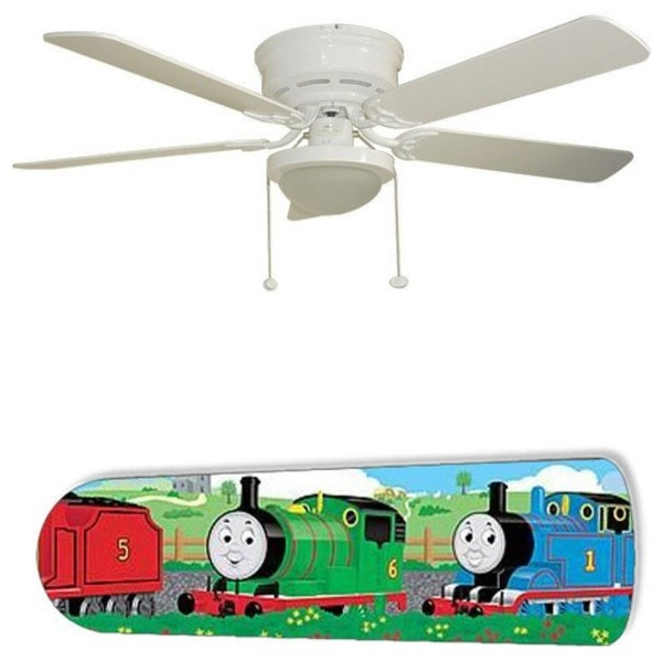 Thomas The Train 52 Quot Ceiling Fan With Lamp Contemporary