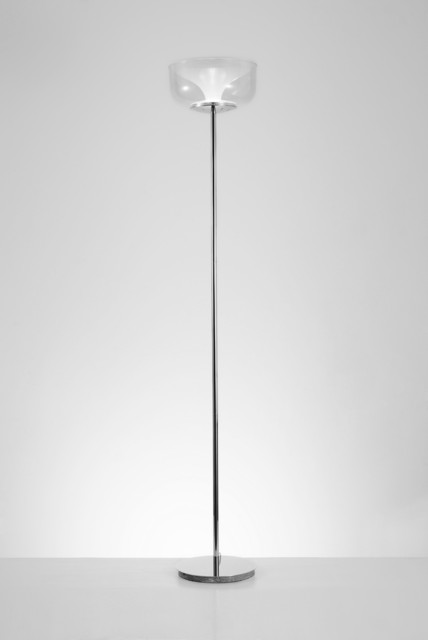 Belle 67 Quot Tall Honey Floor Lamp Modern Floor Lamps