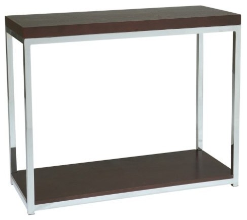 office star wall street foyer table chrome