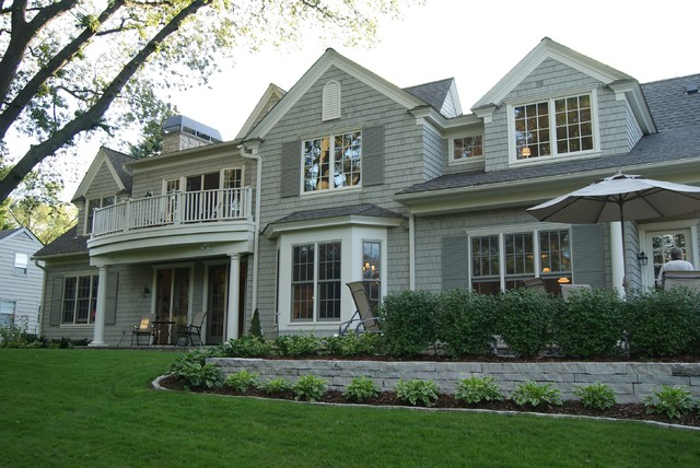 Golden Valley Residence traditional-exterior