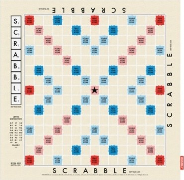 Scrabble Tea Towel  dishtowels