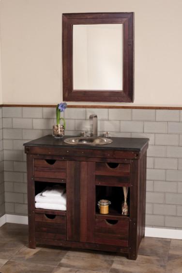 Native Trails - Cabernet Vanity eclectic-bathroom-vanities-and-sink-consoles