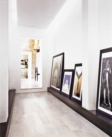 Hallway/ Foyer / . contemporary