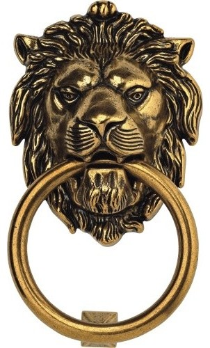 Bosetti Marella Brass Door Knocker - traditional - outdoor decor ...