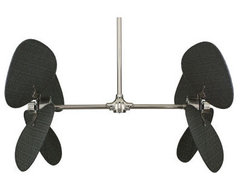 Palisade 200V Ceiling Fan in Pewter eclectic ceiling fans