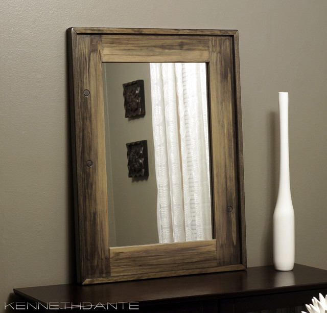 Wood Framed Mirrors - Rustic - milwaukee - by KennethDante ...