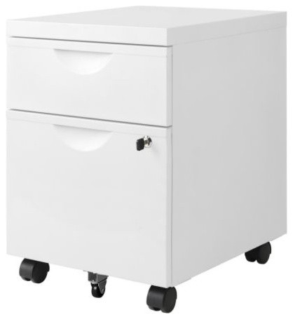 ... unit w 2 drawers on casters - Scandinavian - Filing Cabinets - by IKEA