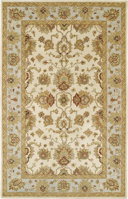 Kaleen Heirloom Heather 8' x 10' Ivory Rug contemporary-rugs