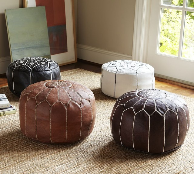 Mediterranean Ottomans And Cubes mediterranean-footstools-and-ottomans