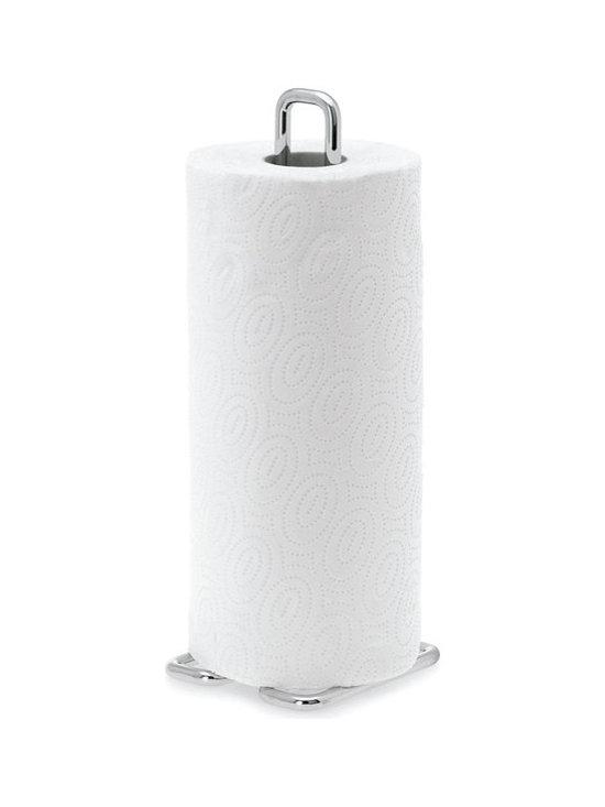 Blomus - Chrome Plated Paper Towel Holder - Chrome plated paper towel holder by Blomus.