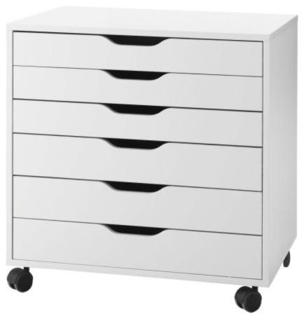 Alex Drawer Unit on Casters modern-storage-and-organization