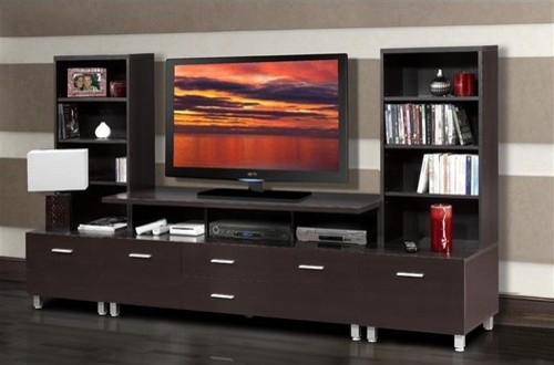 Element Entertainment Center - modern - home electronics - by ...