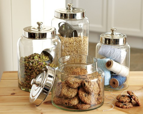 Glass Canisters | Williams-Sonoma kitchen-canisters-and-jars