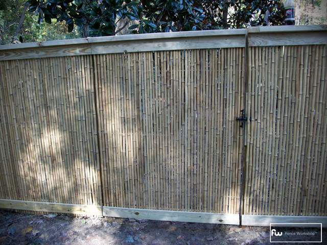 Bamboo Fences  fencing