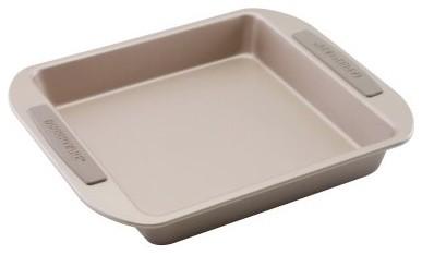 Farberware Soft Touch Bakeware 9 in. Square Cake Pan modern-cake-pans