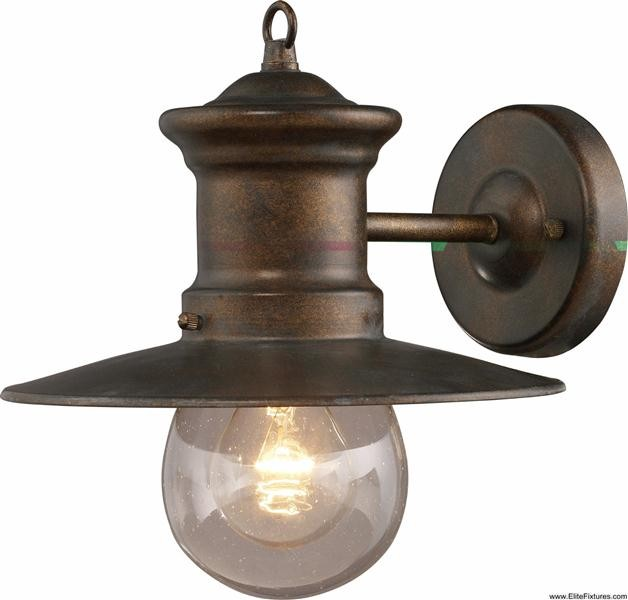 Elk Lighting 42005/1 1 Light Wall Bracket Maritime Collection traditional-outdoor-wall-lights-and-sconces