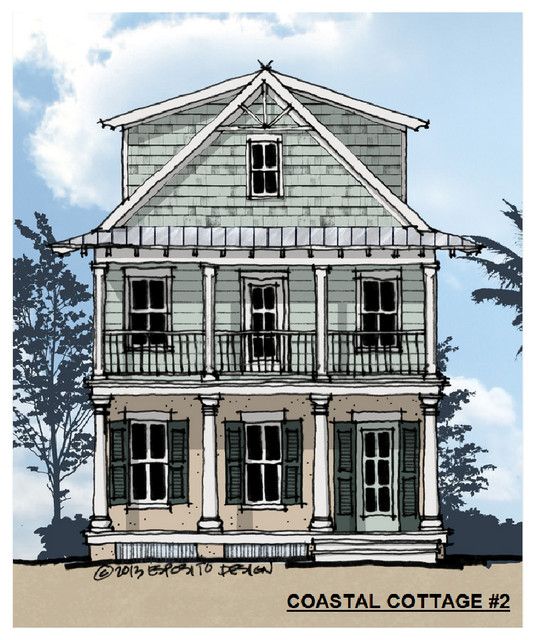 Elevations with coastal style joy studio design gallery for Beach house elevation designs