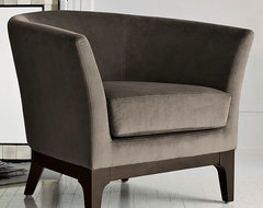 Tulip Upholstered Chair modern-accent-chairs