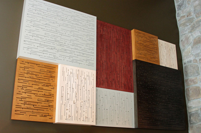 Acoustic Wood Panels - Eclectic - Onlays And Appliques ...