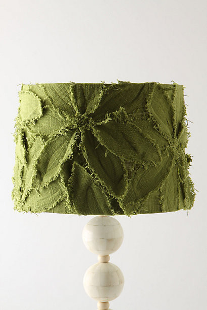 Fringed Clematis Shade, Green eclectic-lamp-shades