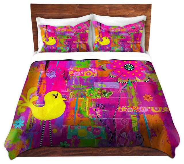 Duvet Cover Twill - The Secret Door contemporary-duvet-covers-and-duvet-sets