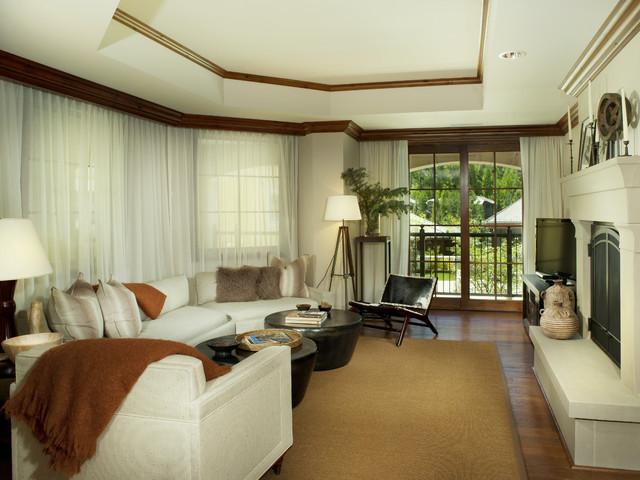 RITZ CARLTON VAIL contemporary-living-room