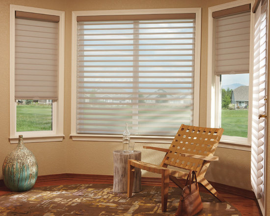 Child & Pet Safety - Hunter Douglas Cordless Silhouette - Cordless operation is always a hit when child & pet safety is a concern. The Silhouettes now come with this option enhancing child & pet safety.
