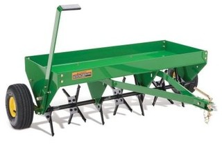 John Deere 40 in. Tow-Behind Plug Aerator - Contemporary - Patio Furniture And Outdoor Furniture ...