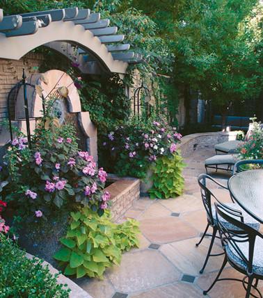 Small Garden Spaces traditional-patio