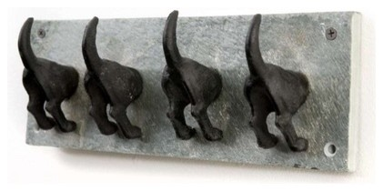 Puppy Dogs Tail Hooks eclectic hooks and hangers