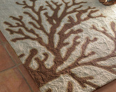 Sea Coral Rug tropical rugs