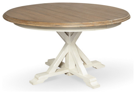 Round Pedestal Dining Table Traditional Dining Tables