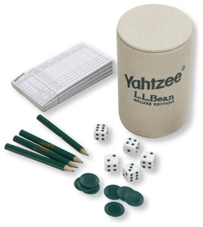 L.L.Bean Yahtzee traditional-kids-toys-and-games