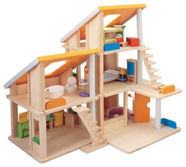 Chalet Dollhouse modern-kids-toys-and-games