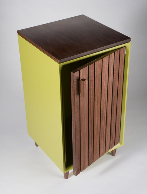 Liquor cabinet - Contemporary - Nightstands And Bedside Tables - portland maine - by Chris Gray ...